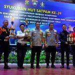 HUT Satpam ke-39, Wakapolda Bali Minta Satpam Bersinergi Jaga Ketertiban Bali/fajarbadung.com