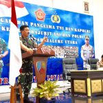 Panglima TNI Berikan Pengarahan Prajurit TNI-Polri di Morotai/fajarbadung.com