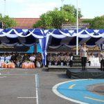 HUT Satpam ke – 39 di Polres Karangasem , Satpam Dituntut Semakin Profesional/fajarbadung.com