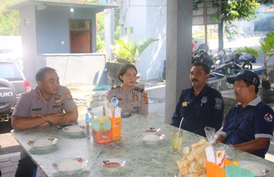 Kapolres Gianyar Jalin Silahturahmi Dengan Komunitas Jurnalis Gianyar (KJG)/theeast.co.id