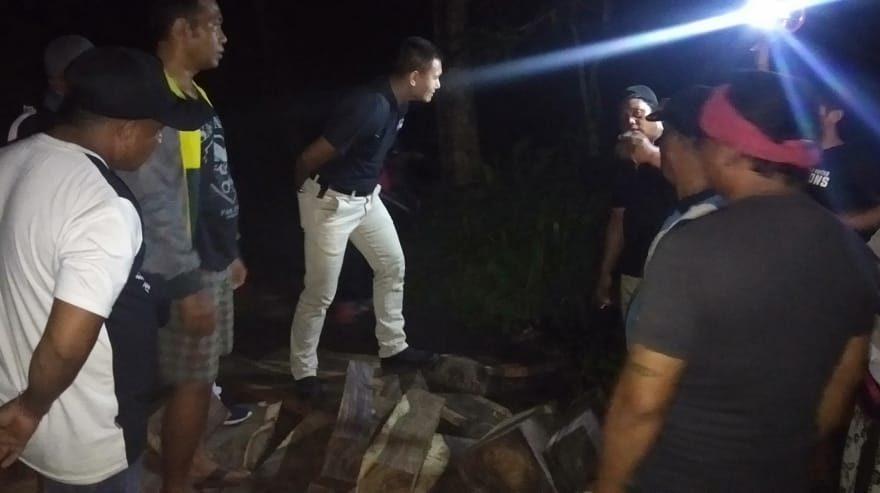 Kodim Buleleng Amankan Puluhan Gelondong Kayu Illegal Logging/fajarbadung.com