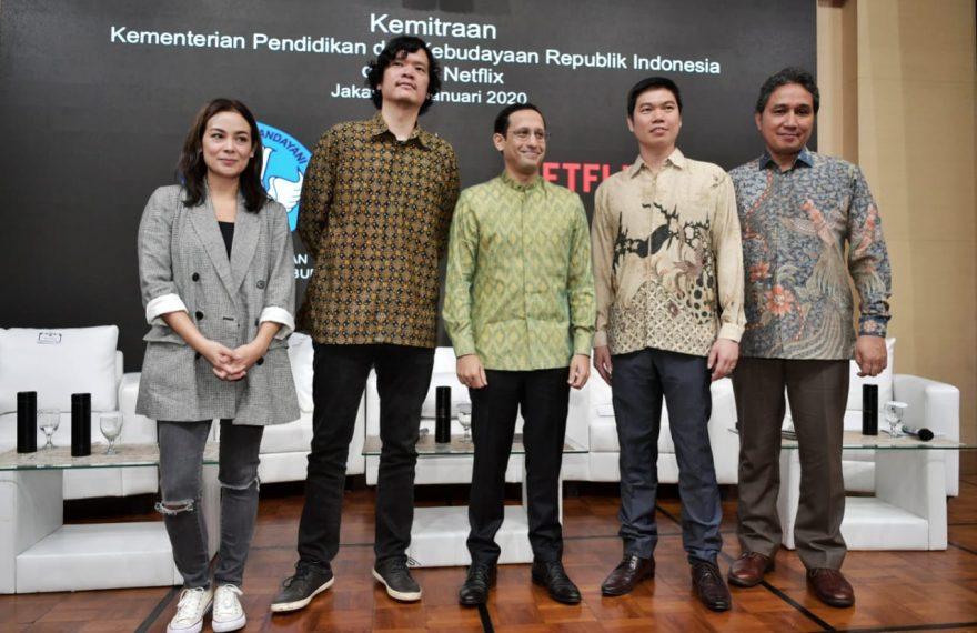 Kemendikbud Apresiasi Netflix Dukung Pengembangan Talenta Perfilman Indonesia/fajarbadung.com