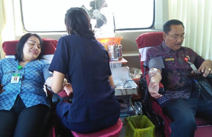 Kodim Buleleng Gelar Donor Darah Jelang Hut ke 59 Korem 163 Wira Satya/fajarbadung.com