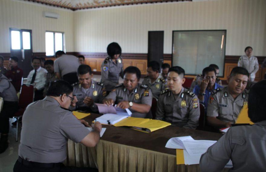 Polres Badung Menerima Kunjungan Tim Wasops Itwasda Polda Bali/fajarbadung.com