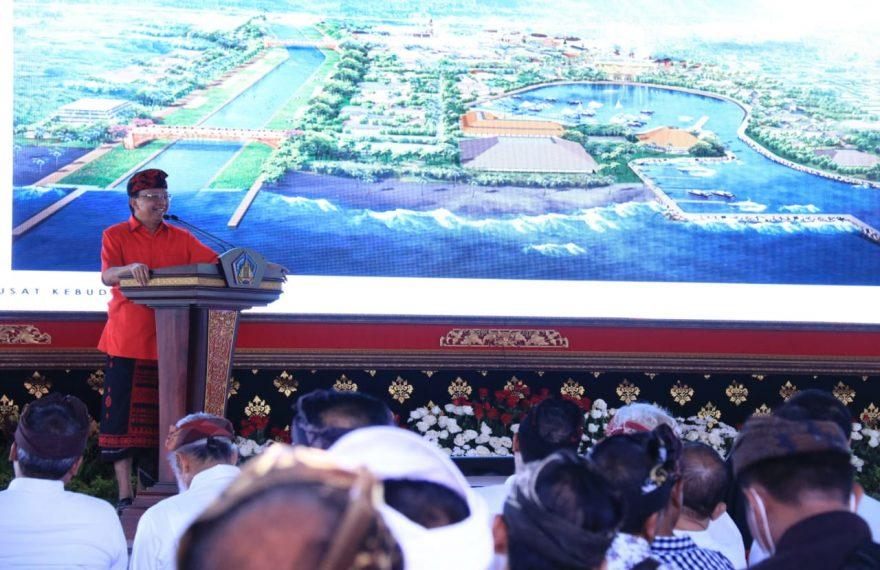 Gubernur Koster Harapkan Dukungan Wujudkan Pusat Kebudayaan Bali/fajarbadung.com