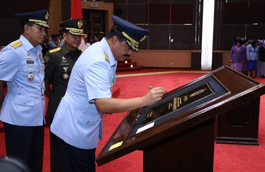Panglima TNI Resmikan Pusat Informasi Maritim/fajarbadung.com