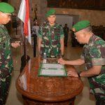 Pangdam Pimpin Sertijab dan Tradisi Laporan Korps Kakesdam IX/Udayana/fajarbadung.com