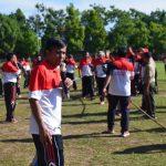285 Personel TNI - Polri Olah Raga Bersama di Lapangan Umum Mengwi/fajarbadung.com