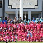 Siswa/Siswi TK dan Paud Albana Denpasar Kunjungi Mako Pangkalan TNI AL Denpasar/fajarbadung.com