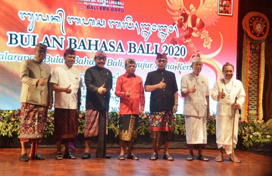 Gubernur Minta Generasi Muda Jangan Bosan Gunakan Bahasa Bali/fajarbadung.com