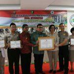 Rumah Sakit Bhayangkara Denpasar Menggelar Kegiatan Pencangan Pembangunan Zona Integritas dan Penandatanganan Pakta Integritas/fajarbadung.com