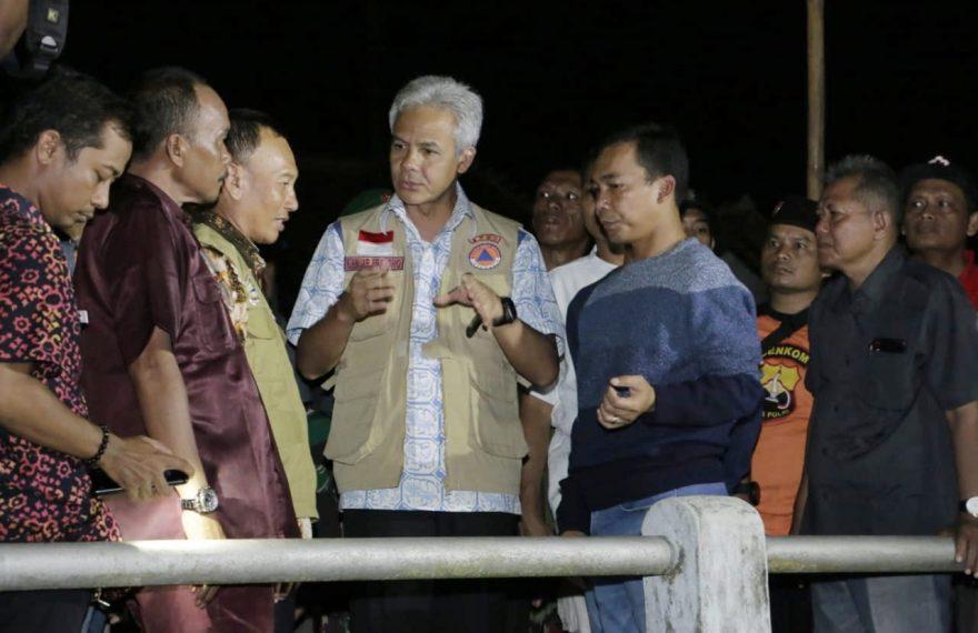 Ganjar Parnowo Siap Normalisasi Sungai di Batang/fajarbadung.com
