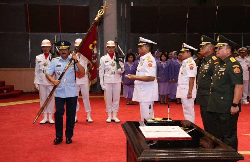 Panglima TNI Pimpin Sertijab Danjen Akademi TNI dan Asops TNI/fajarbadung.com
