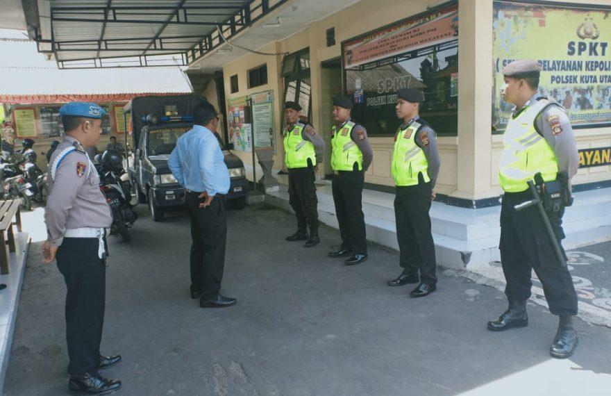 Patroli Biru, Perkuat Pengamanan Di Wilayah Polsek Kuta Utara/fajarbadung.com