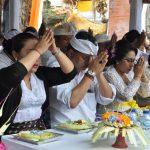 Ribuan Umat Mengikuti Ritual Tawur Agung di Pura Luhur Batukau/fajarbadung.com