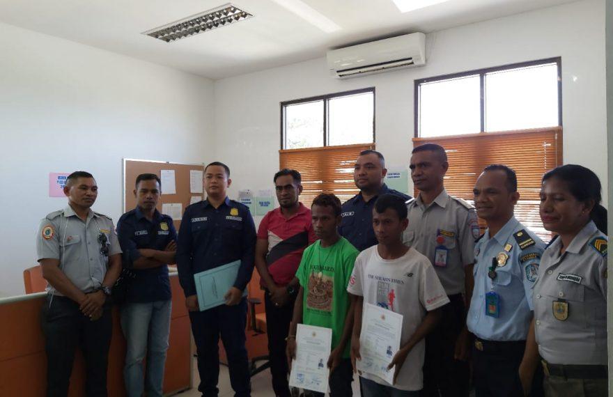 Deportasi 2 Warga Timor Leste, Kepala Imigrasi Atambua Himbau Jangan Melintas Lewat Jalur Ilegal/fajarbadung.com