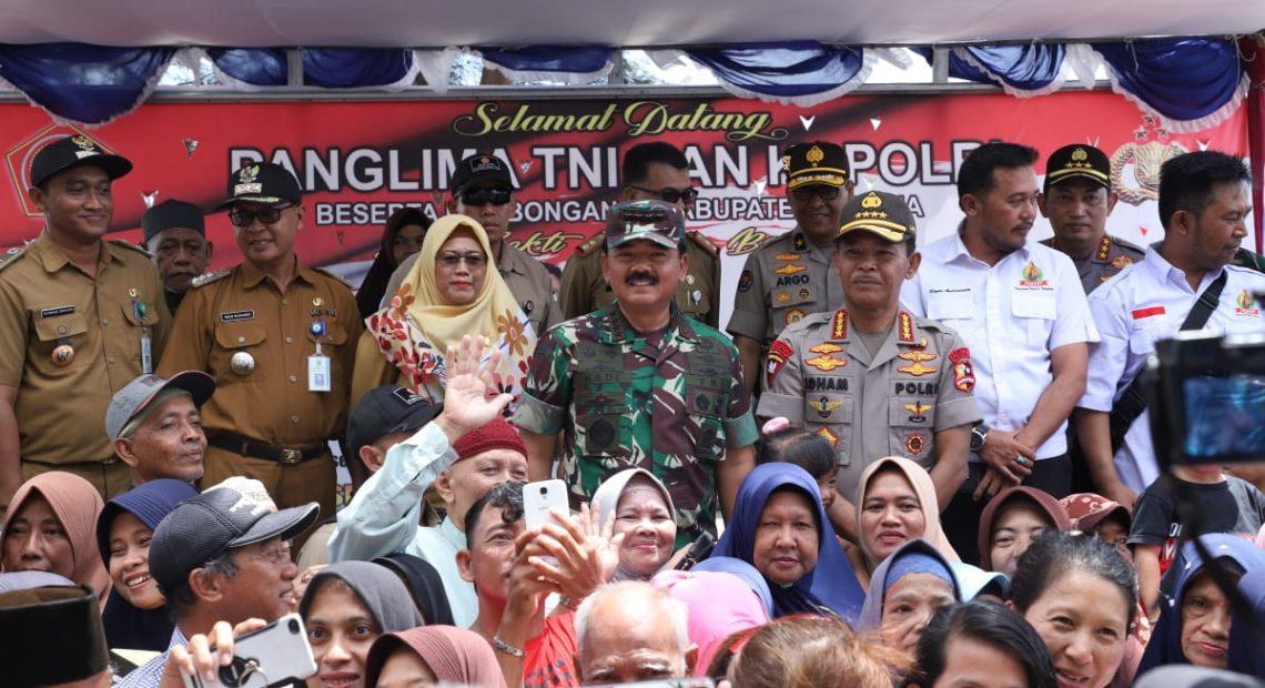 Panglima TNI-Kapolri Apresiasi Dukungan Observasi dan Sapa Warga Natuna/fajarbadung.com