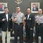 Wakapolda Bali menerima kunjungan Team Taekwondo Indonesia/fajarbadung.com