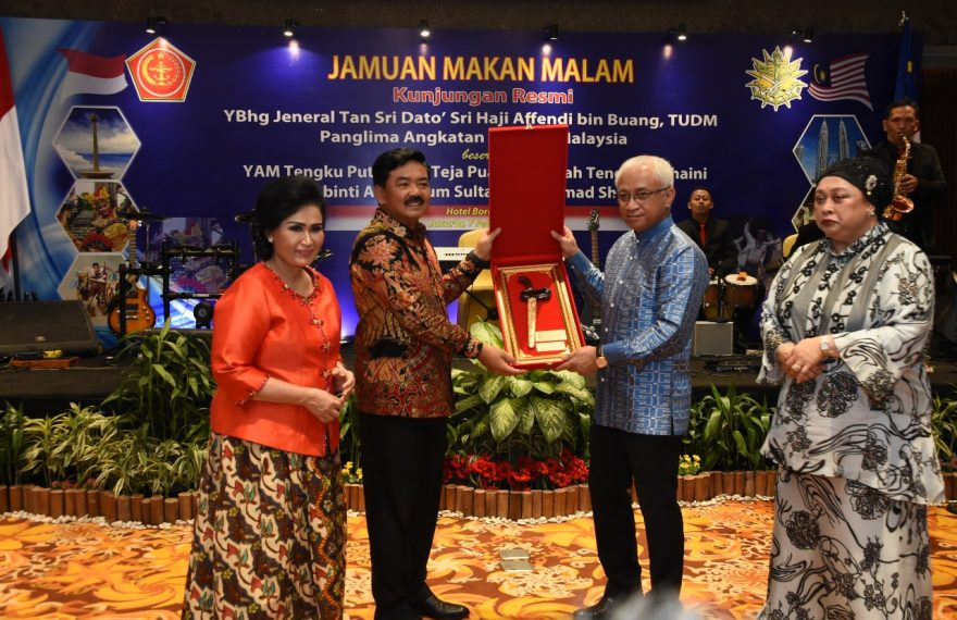 Panglima TNI Terima Kunjungan Kehormatan Panglima ATM /fajarbadung.com