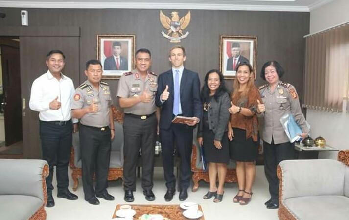 Wakapolda Bali menerima kunjungan IALF Bali/fajarbadung.com