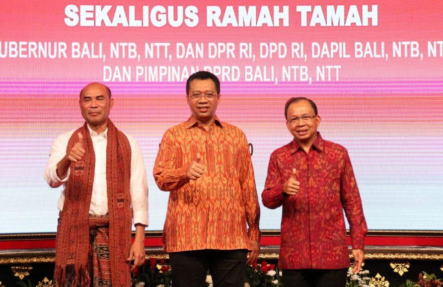 Tiga Gubernur Eks Sunda Kecil Bertemu Bahas RUU Provinsi Bali/fajarbadung.com