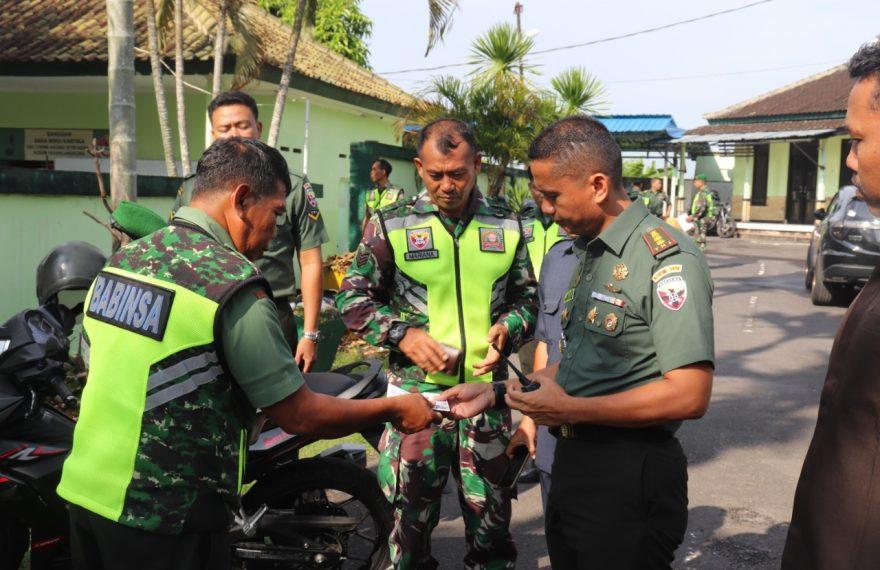Kodim Klungkung Gelar Pengecekan Kendaraan Dinas Maupun Pribadi/fajarbadung.com