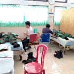 Menjaga Ketersediaan Stok Darah Kodim Karangasem Gelar Donor Darah/fajarbadung.com