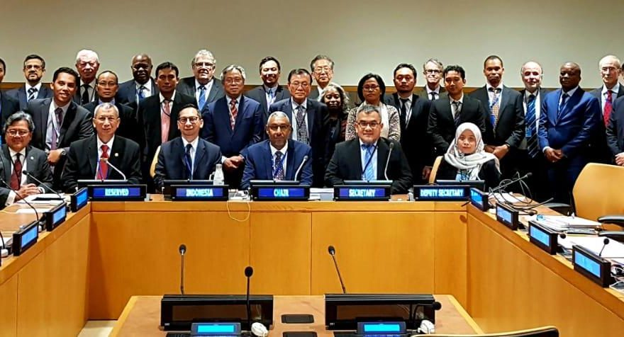 Pushidrosal Perkuat Tim Nasional Landas Kontinen Indonesia Ajukan Perluasan Landas Kontinen Kawasan Utara Papua di PBB/fajarbadung.com