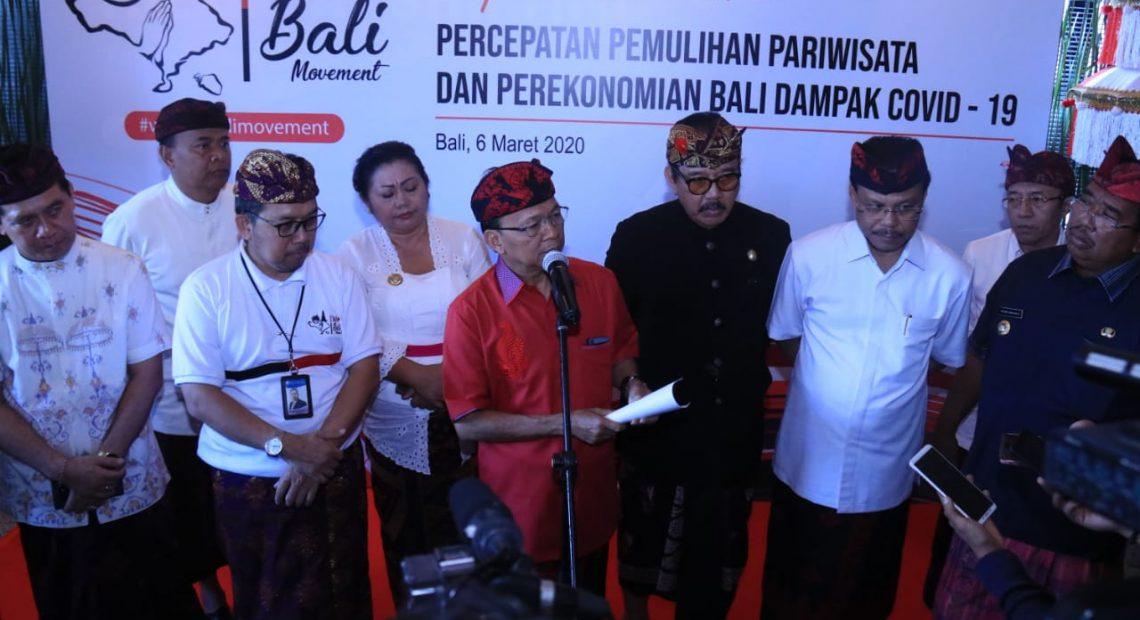 Bali Luncurkan Branding 'We Love Bali Movement' untuk Keluar dari Krisis Korona/fajarbadung.com