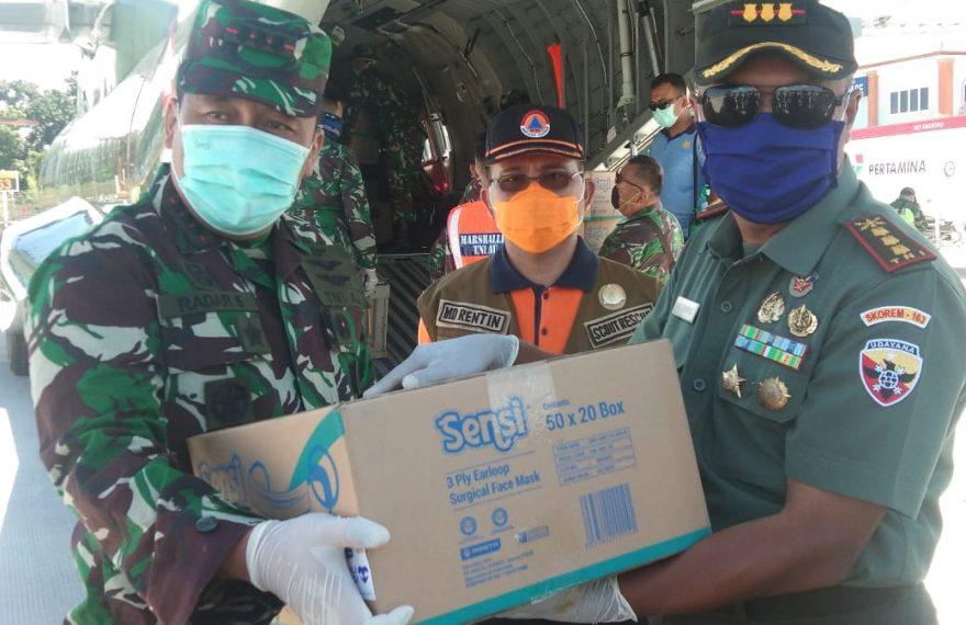 Bali Mendapatkan Tambahan 7500 APD Dan 37 500 Masker dari Pemerintah Pusat/fajarbadung.com