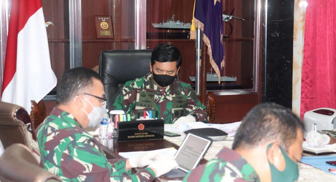 Personel dan Alutsista TNI Dikerahkan Untuk Dukung Penanganan Covid-19/fajarbadung.com
