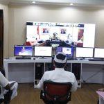Sekda Tabanan I Gede Susila Video Conference dengan Kemendagri Bahas Covid-19/fajarbadung.com