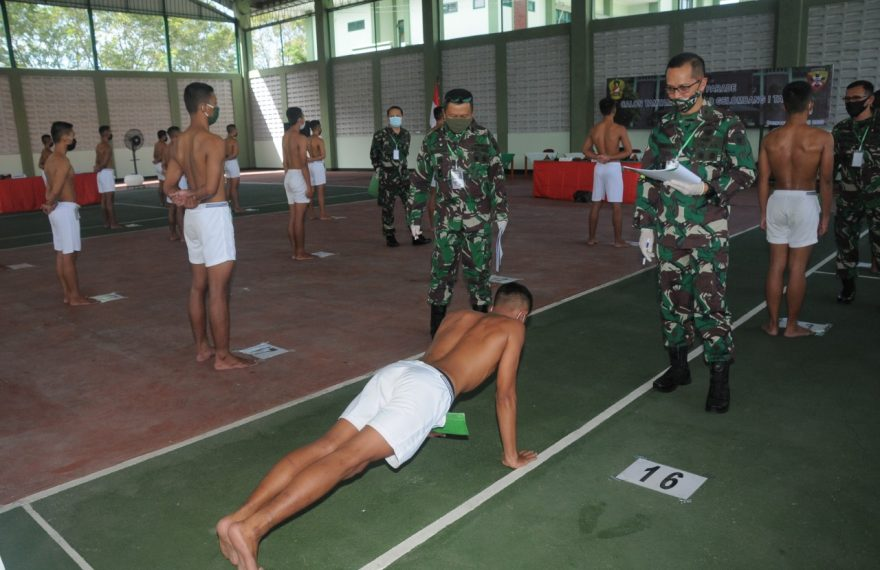 Terapkan Protokol Covid-19, 138 Orang Ikuti Sidang Pemilihan Cata PK TNI AD Panda Bali /fajarbadung.com