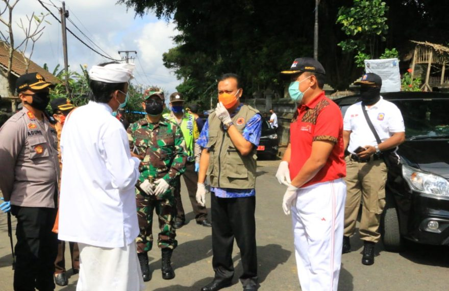 Pemprov Bali Cabut Status Karantina Wilayah Desa Abuan Bangli/fajarbadung.com