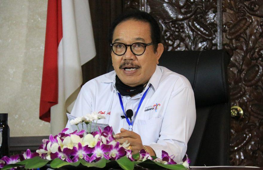 Kurva Kasus Positif sudah Mendatar, Bali Siap Masuk Era New Normal/fajarbadung.com