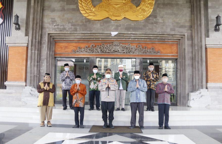 Kapolda Bali Minta Umat Islam tidak Menggelar Sholat Ied di Bali/fajarbadung.com