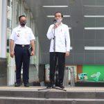 Panglima TNI Dampingi Presiden Jokowi Tinjau Persiapan Penerapan Prosedur New Normal/theeast.co.id