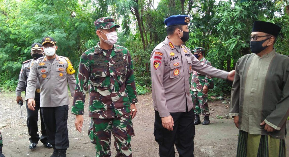 Jajaran TNI-Polri Di Buleleng Bersinergi Kunjungi Pos Pengamanan dan Panti Yatim/fajarbadung.com