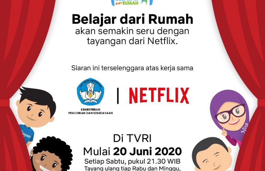 Kemendikbud Hadirkan Film-Film Dokumenter Netflix pada Program Belajar dari Rumah/theeast.co.id