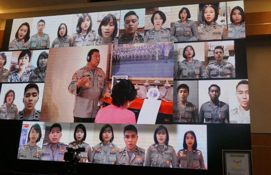 Polda Bali Raih Rekor Muri di Hari Bhayangkara ke-74/fajarbadung.com