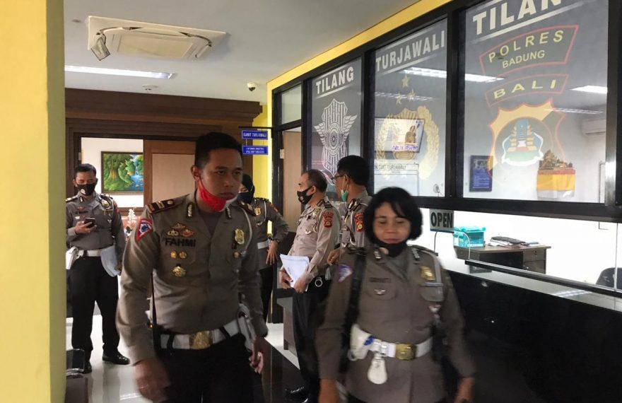 Fahmi Adiatma Sambut Rombongan Tim DitlantasPolda Bali/fajarbadung.com