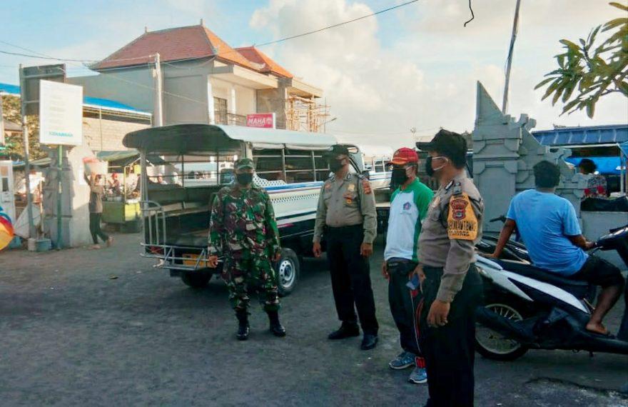 TNI-Polri Ajak Warga Disiplin Melaksanakan Protokol Kesehatan/fajarbadung.com