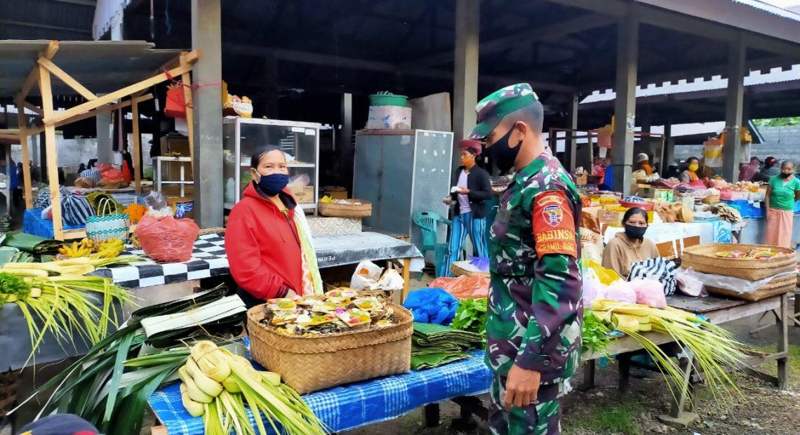 Pasar Tradisional dan Destinasi Tempat Wisata Menjadi Sasaran Pendisiplinan Masyarakat/fajarbadung.com