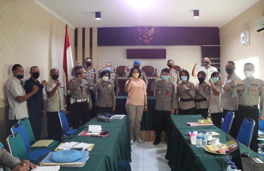 Propam Polda Bali Terima Kunjungan Kerja Tim MEA Div Propam Mabes Polri/fajarbadung.com