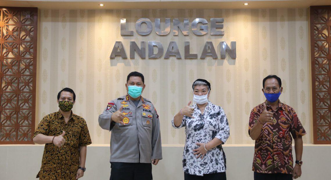 Kapolda Bali menerima Audensi PT. Wahana Boga Nusantara/fajarbadung.com