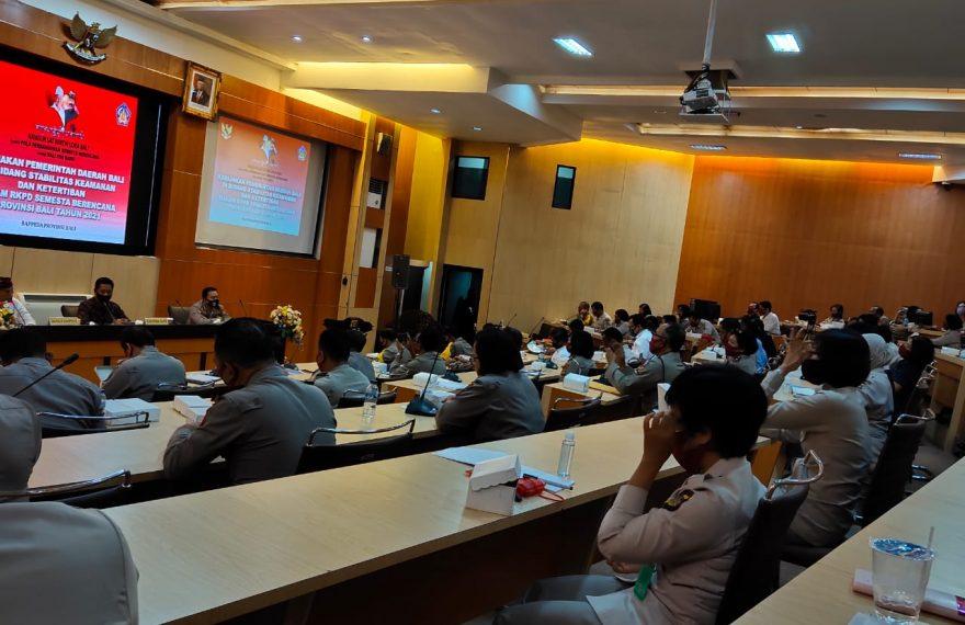 Kapolres Badung Hadiri Musrenbang di Polda Bali/fajarbaudng.com
