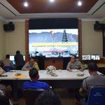 Kabag Ops Polres Badung Sambut Tim Supervisi Roops Polds Bali/fajarbadung.com