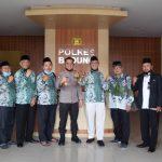 Majelis Wakil Cabang NU Kuta Utara Silaturahmi ke Polres Badung/fajarbadung.com