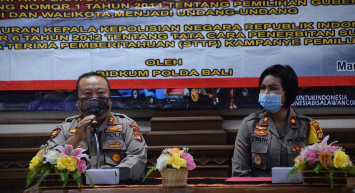 30 Personil Polres Badung Menerima Sosialisasi Hukum dari Polda Bali/fajarbadung.com
