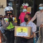 Hari Jadi Polwan Ke -72, Wakapolres Utari Bagi-Bagi Sembako/fajarbadung.com
